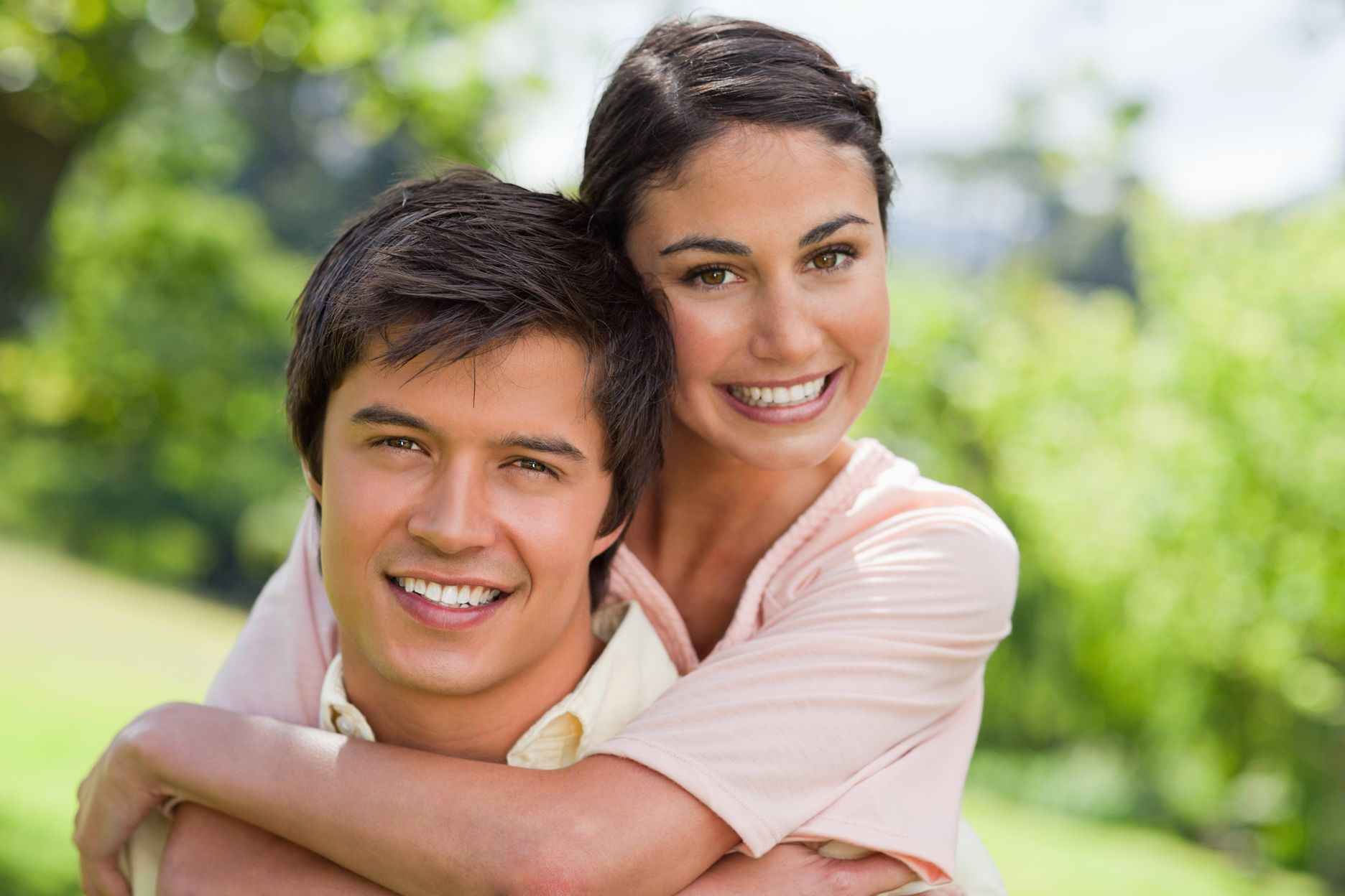 Laser Dentistry - Photo of couple